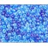 Ponybead 6/0 Blue Aqua Luster Mix